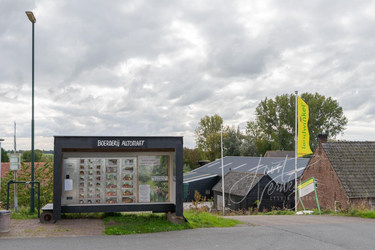 Boerderij automaat langs Lekdijk