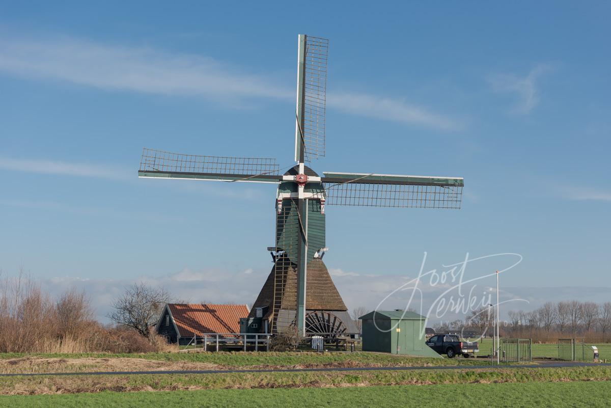 Boterslootse molen in Noordeloos