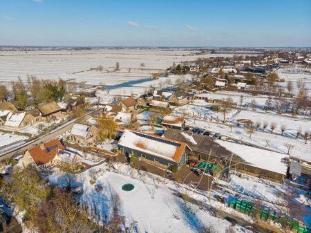 Luchtfoto winters Ottoland