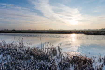 Winter in de Alblasserwaard