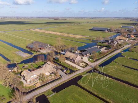 Luchtfoto Brandwijksedijk Brandwijk