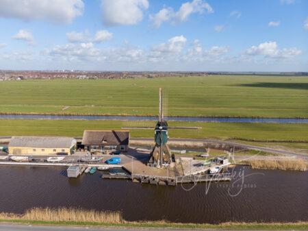 Luchtfoto Graaflandse molen