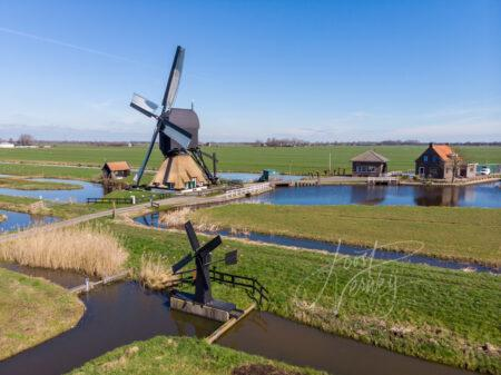 Luchtfoto Westermolen