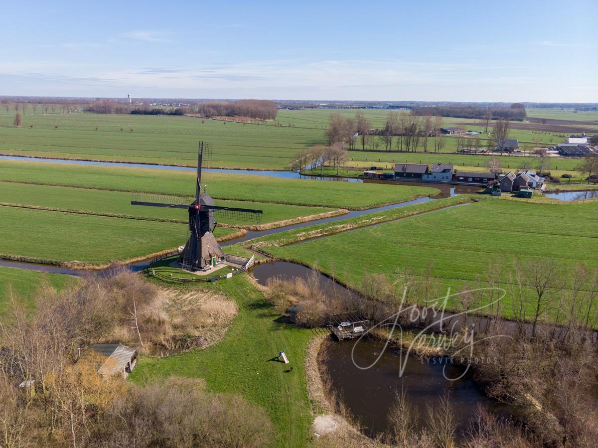 Luchtfoto Stijve molen
