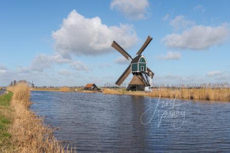 Achterlandse molen in Groot-Ammers