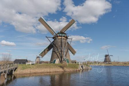 molen Nederwaard no 5 in Kinderdijk