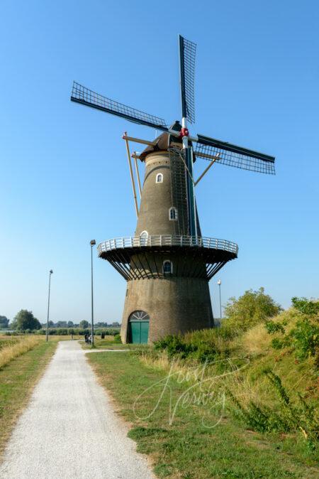 Stellingmolen De Hoop in Gorinchem