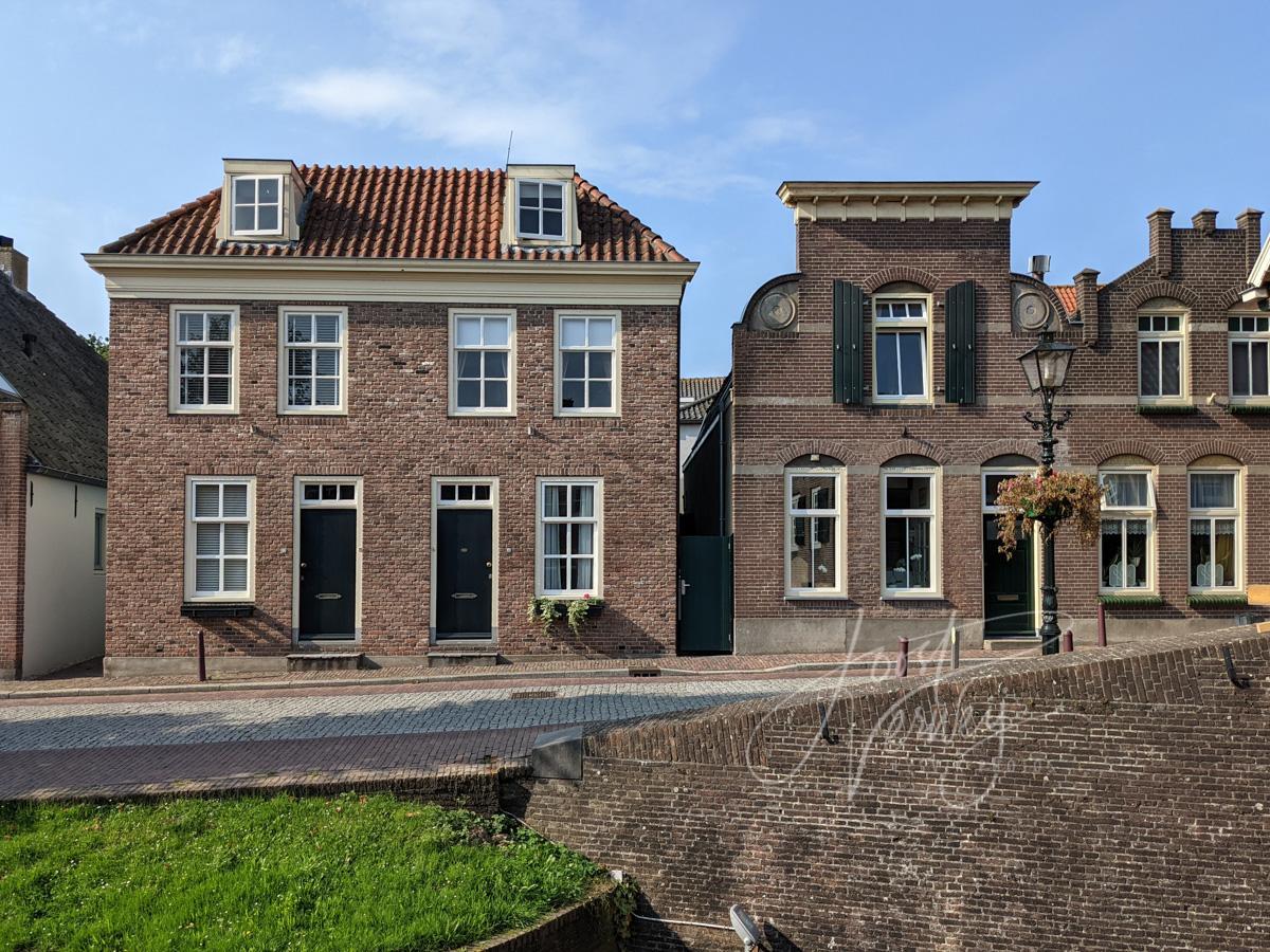 Historische woningen Nieuwpoort