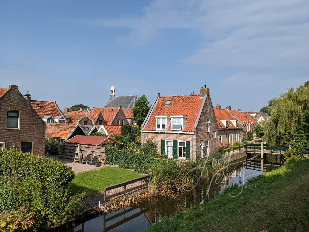 middeleeuwse gracht in Nieuwpoort
