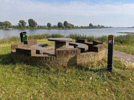 Rustpunt op de vestingwal Nieuwpoort