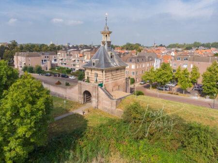 Luchtfoto Dalempoort in Gorinchem