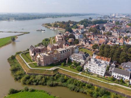 Luchtfoto Altenawal in Gorinchem